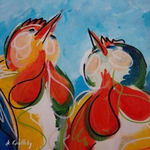 TALKING BIRDS | BLUE