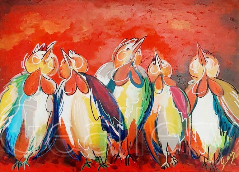 TALKING BIRDS | RED